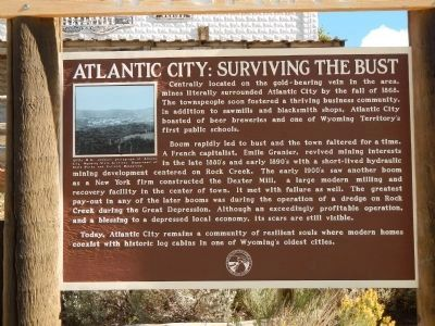 Atlantic City: Surviving the Bust Marker image. Click for full size.