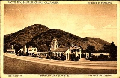 <i>Motel Inn, San Luis Obispo, California</i> image. Click for full size.