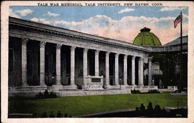 <i>Yale War Memorial, Yale University, New Haven, Conn.</i> image. Click for full size.