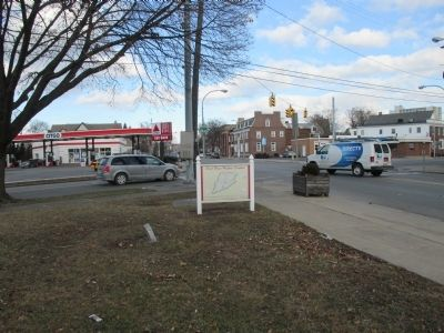 Northward on Main Street (NY 104) image. Click for full size.