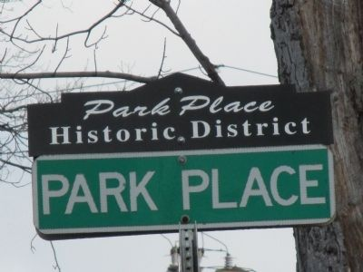 Park Place Historic District Sign image. Click for full size.