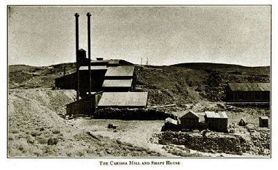 The Carissa Mill and Shaft House image. Click for full size.
