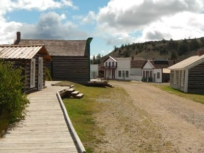 Main Street from Tibbals Cabin image. Click for full size.