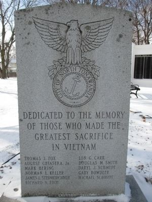 North Tonawanda Vietnam Memorial image. Click for full size.