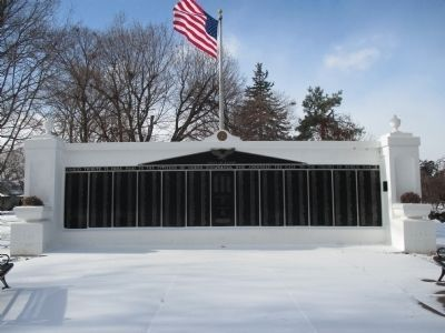 North Tonawanda WWII Memorial image. Click for full size.