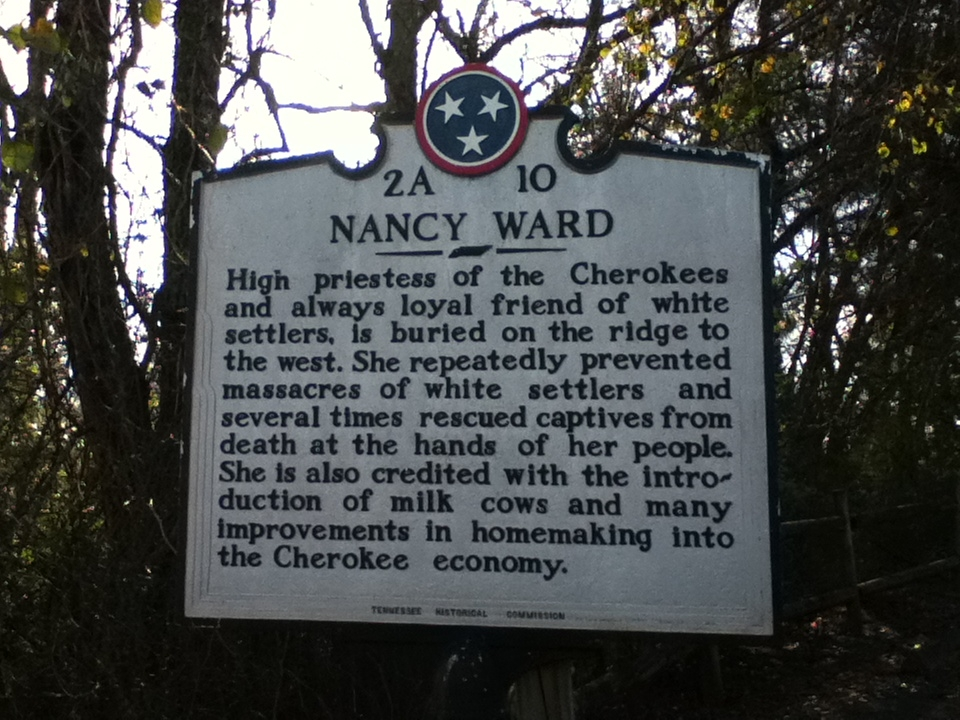Nancy Ward Marker
