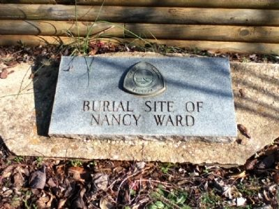 Burial Site of Nancy Ward image. Click for full size.