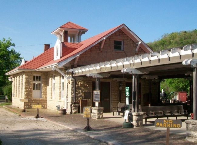 The Railroad Depot image. Click for full size.