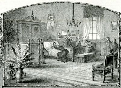 Death Bed Scene image. Click for full size.
