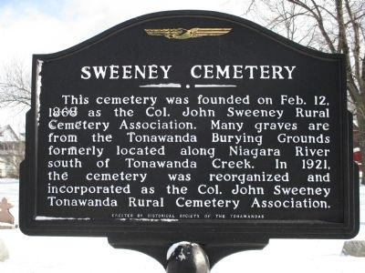 Sweeney Cemetery Marker image. Click for full size.