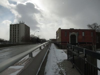 Southward on Bridge, Webster St. to Main St. image. Click for full size.