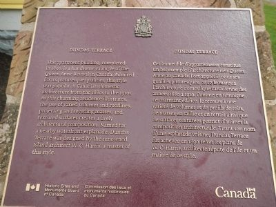 Dundas Terrace Marker image. Click for full size.
