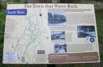 The Town that Water Built Marker image. Click for full size.