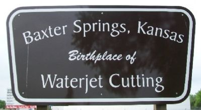 Birthplace of Waterjet Cutting Marker image. Click for full size.