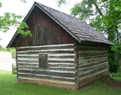 Hibbard Log Cabin image. Click for full size.