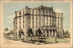 """The Charlottetown,"" Canadian National Hotel image. Click for full size."