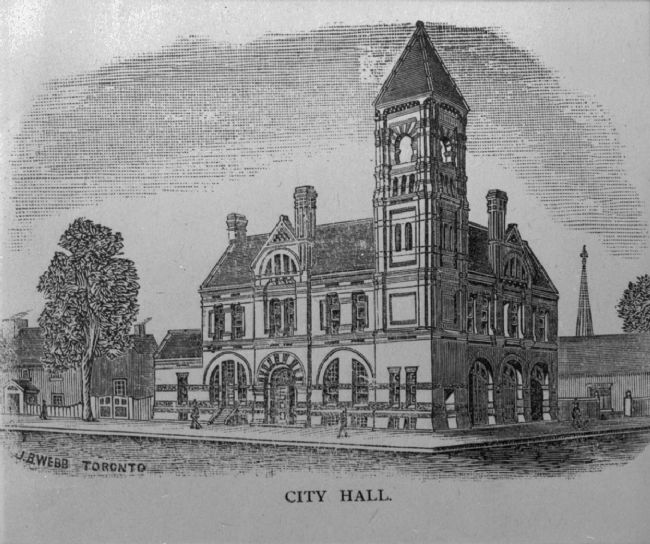 Charlottetown City Hall image. Click for full size.