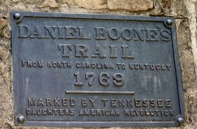 Daniel Boone's Trail Marker image. Click for full size.