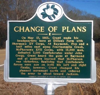 Change of Plans Marker image. Click for full size.