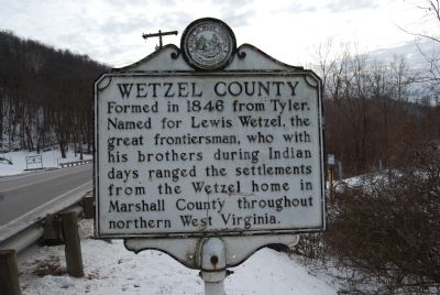 Wetzel County Marker image. Click for full size.