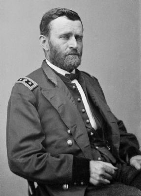 Gen. U.S. Grant image. Click for full size.