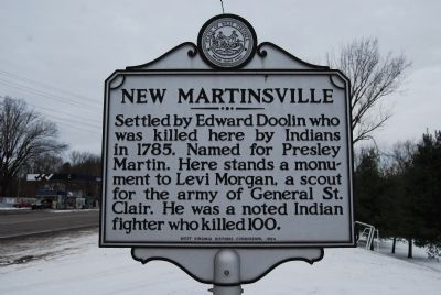 New Martinsville Marker image. Click for full size.