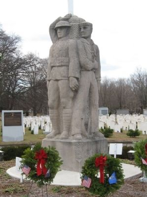 Spring Grove Cemetery Veterans Memorial image. Click for full size.