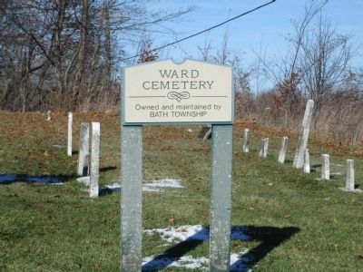 The Hog Creek Settlement at Ward Cemetery image. Click for full size.