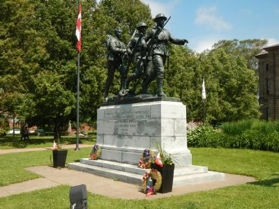Prince Edward Island War Memorial Marker image. Click for full size.