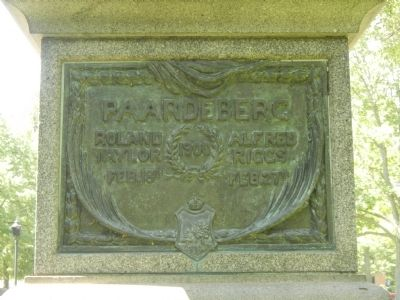 Paardeberg Marker image. Click for full size.