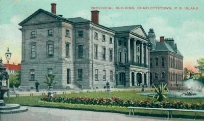 <i>Provincial Building, Charlottetown, P.E. Island</i> image. Click for full size.