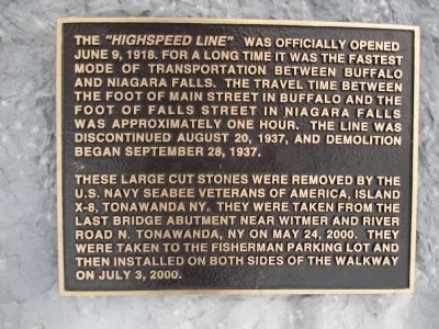 "The ""Highspeed Line"" Marker image. Click for full size."