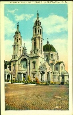 <i>Our Lady of Victory, Lackawanna, N. Y.</i> image. Click for full size.
