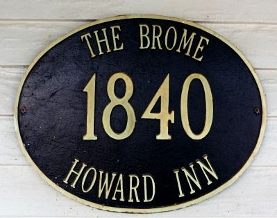 The Brome<br>1840<br>Howard Inn image. Click for full size.