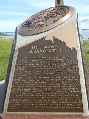The Grand Dérangement Marker image. Click for full size.