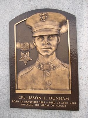 Cpl. Jason L. Dunham image. Click for full size.