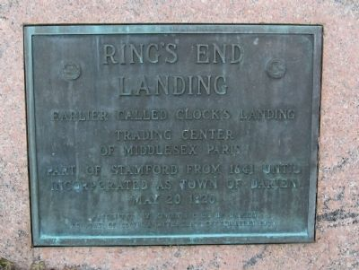 Ring's End Landing Marker image. Click for full size.