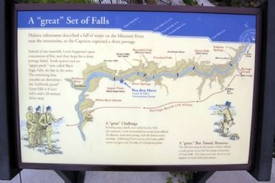 "A ""great"" Set of Falls Marker image. Click for full size."