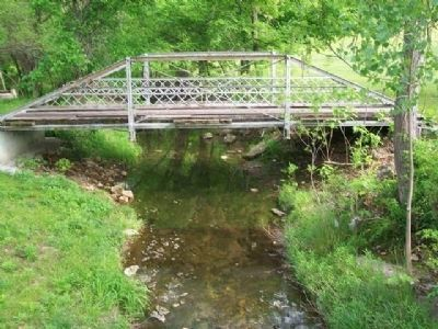 Last Pratt Pony Truss Bridge in Cherokee County image. Click for full size.