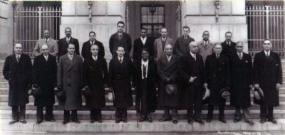 "Mary McLeod Bethune<br> and the ""Black Cabinet"" image. Click for full size."