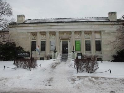 Buffalo History Museum Entrance image. Click for full size.