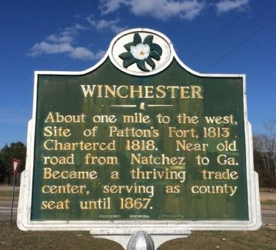 Winchester Marker image. Click for full size.