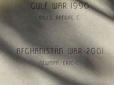 Gulf War 1990 and Afghanistan War 2001 image. Click for full size.