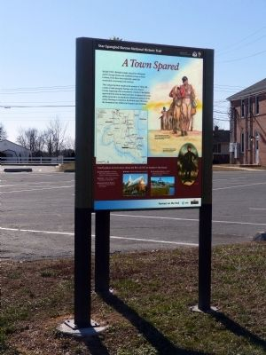 A Town Spared Marker image, Touch for more information