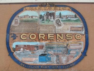 Corenso North America Marker image. Click for full size.