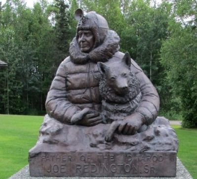 Father of the Iditarod Marker image. Click for full size.