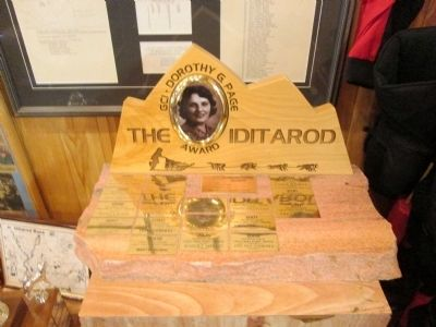 Iditarod Award image. Click for full size.