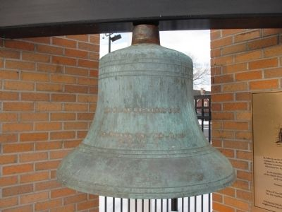 St. Mary's-on-the-Hill Bell image. Click for full size.