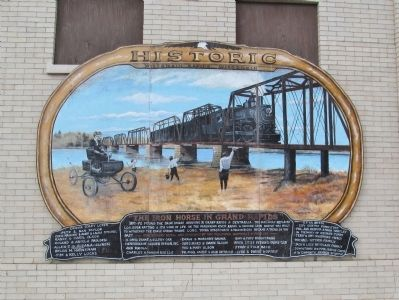 The Iron Horse in Grand Rapids Marker image. Click for full size.