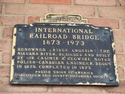 International Railroad Bridge Marker image. Click for full size.
